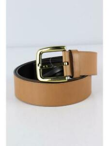 GUCCI 92769 214351 80 32 leather BRW Belt 0092 fashion accessories From Japan