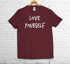 LOVE YOURSELF T Shirt Swag Justin Hipster Tumbrl Dope One Bieber Direction Fresh