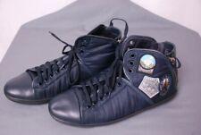 "rare LOUIS VUITTON men's ""Axel"" avventure sneakers w/travel patches LV 9 US 10"