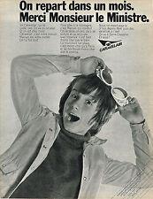 PUBLICITE ADVERTISING 035  1970  CARAVELAIR  compagnie aérienne 2