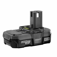 NEW RYOBI 18 VOLT COMPACT LITHIUM-ION BATTERY PACK - P189