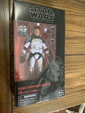 Star Wars Black Series Clone Wars Commander Wolffe 6? Figure Brand New