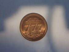 Jackpot 777 One Armed Bandit Good Luck Casino Lucky Token Coin