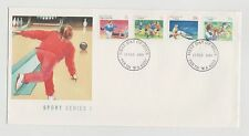 AUSTRALIA POST  SPORT SERIES 1 FIRST DAY COVER X 2 13/2/1989 MINT & UNADDRESSED