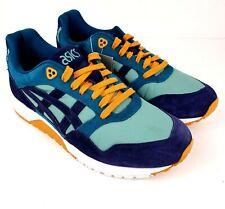 Asics Tiger Gel Saga Mens Size 10 Blue Teal Peacoat Shoes 1191A141