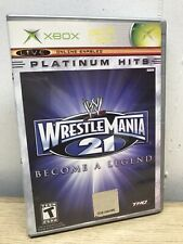 H - WWE WrestleMania 21 - Original Xbox Game Complete With Manual