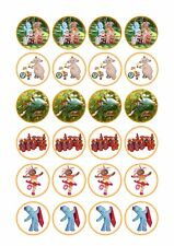 24 x  In The Night Garden Cup Cake Toppers ICING