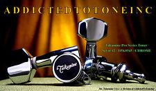 Takamine 12 STRING SET / Pro Series Machine Head / Tuners /  OEM Part CHROME