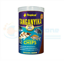 TANGANYIKA SINKING CHIPS Kril & Squid 520g / 1L TUBE  130g / 250ml TUBE TROPICAL