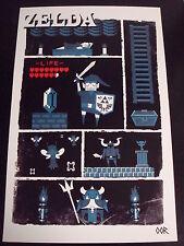 The Legend of Zelda poster print