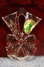 Waterford Ornament Lismore 2013 Toasting Flute with Jeweled Enhancer BNIB