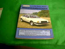 AUSTIN MORRIS PRINCESS AMBASSADOR 1975 ON USED AUTODATA REPAIR MANUAL