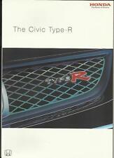 HONDA CIVIC TYPE R SALES BROCHURE novembre 2003 per il 2004 anno del modello