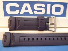 Casio Watch Band G-7500 -2, G-7510 -2, Dark blue Rubber G-Shock Strap