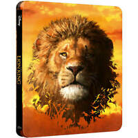 THE LION KING 4K ULTRA HD LIMITED EDITION STEELBOOK / REGION FREE /WORLDWIDE P+P