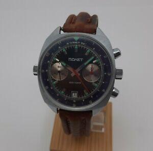 POLJOT sturmanskie 3133 ussr cccp soviet russian watch chronograph