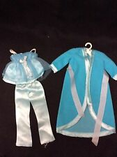 "VINTAGE~ BARBIE ""SATIN SLUMBER"" ROBE PAJAMA'S -NICE SET"