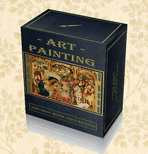 250 Rare Painting Books on DVD - Renaissance Classic Artists Art History Oil F6