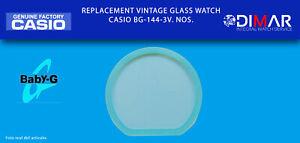 Replacement Original Watch Glass Casio Baby-G. BG-144-3V. NOS