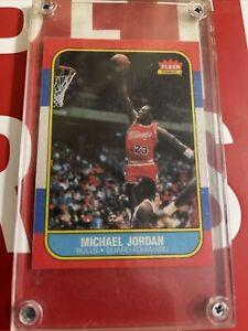 MICHAEL JORDAN FLEER 1986 ROOKIE $$ INVEST MUST HAVE RP? L##K READ DESCRIPTION!