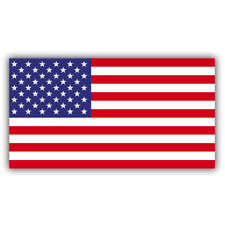 American Flag Car Window Bumper Phone Helmet Decal Sticker USA Red White Blue