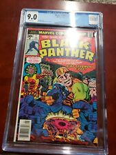 Black Panther 1 Kirby CGC 9.0  White pages