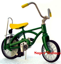 Dept. 56 Bicycle and Tricycle Green Bicycle Only Retired 2004 Heritage 52950