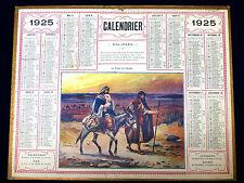 Calendrier Almanach 1925. La Carte Postale, Téléphonique, Chemin de Fer du GERS