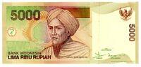 Indonesia ... P-142a ... 5000 Rupiah ... 2001 ... Ch*UNC*.