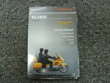 2006 Honda GL1800 Goldwing Motorcycle Parts Owner's & Shop Service Repair Manual