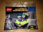 DC Universe Lego Bag Set 30303 The Joker Bumper Car Brand New 47 Pieces Sealed