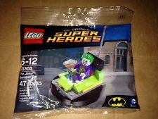 DC Universe Lego Bag Set 30303 The Joker Bumper Car Brand New 47 Pieces Sealed
