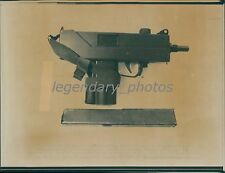 1989 Ingram MAC-10 9mm Semiautomatic Gun Original Laserphoto