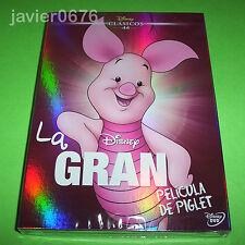 LA GRAN PELICULA DE PIGLET CLASICO DISNEY 44 - DVD NUEVO Y PRECINTADO SLIPCOVER