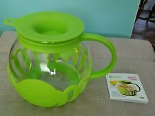 Ecolution micro-pop microwave popcorn popper 3qt Lime Green Ekpli-4230-T