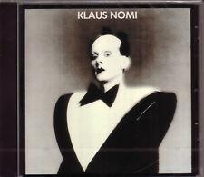 CD (NEU!) . KLAUS NOMI (The Cold Song Total Eclipse Lightning Strikes mkmbh
