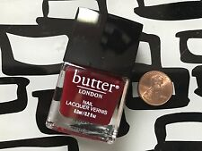 BUTTER London Nail Polish * SHEER DELIGHT * Half Size .2 oz * SEALED