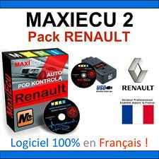 MaxiECU 2 + MPM-COM - Valise Diagnostic RENAULT - CAN CLIP AUTOCOM DELPHI