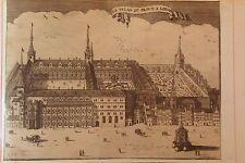 LA BELGIQUE,BÉLGICA, Le palais du prince a Liege, ,d'Harrewyn, 1711.