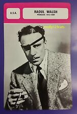 US Director Actor Raoul Walsh (period 1913-1929) French Film Trade Card