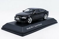 1/43 Audi RS7 Sportback Black Diecast Car Model Collection Toy NIB