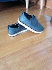 Zara boy smart shoes grey leather size UK8