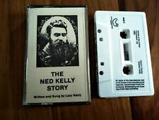 THE NED KELLY STORY CASSETTE TAPE LAZY HARRY AUSTRALIA LIKE NEW CONDITION