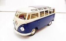 Volkswagen Classic Bus 1/24 KINSMART Bleu Diecast (lèger éclat de peinture..)