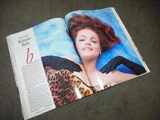 VANITY FAIR Magazine Feb 1992 MICK JAGGER BELINDA CARLISLE LYNDA CARTER
