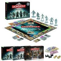 Assassin's Creed Monopoly Spiel Brettspiel Gesellschaftsspiel Board Game NEU