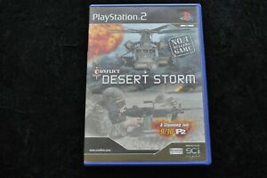 Conflict Desert Storm Playstation 2 PS2 Geen Manual