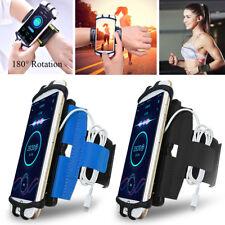 Rotation Sport Running Jogging Gym Armband Wrist Band Belts Phone Case Cover Bag
