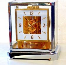 CLEANED SERVICED 1970s LECOULTRE 528*RHODIUM/GOLD* #313,XXX SQUARE DIAL WORKING