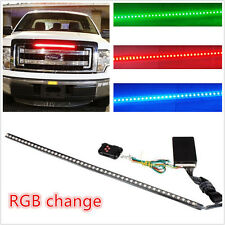 RGB 22IN 56CM 48 Led Light Strip Knight Rider Flash Strobe Scanner Neon Car SUV